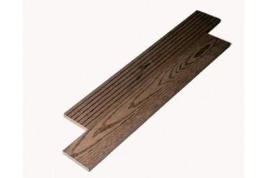 Планка 72 TimberTex темно-коричневая